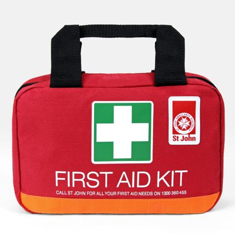 Small Workplace First Aid Kit - soft case