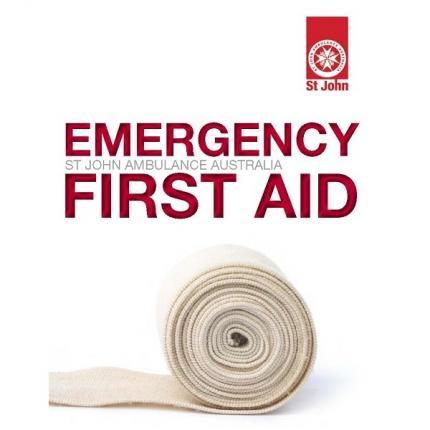 Emergency First Aid book